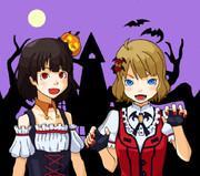 Horror Night 桃子&育