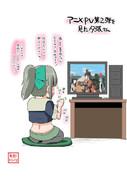 アニメPV第二弾を見た夕張さん【2014/11/07】