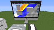 MinecraftでiMacを作ってみた