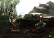 連邦兵と帝国兵のひと時