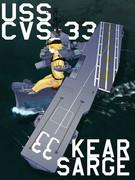 エセックス級空母「キアサージ」