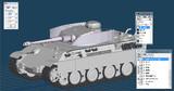 【テスト】IV号戦車砲塔搭載型ベルゲパンター