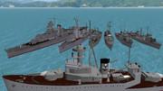 タイ王国海軍の海防戦艦が妖精帝國海軍へ親善訪問の巻