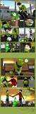 緑のたぬき