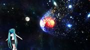 VerUP【MMDステージ配布】Ver1.2惑星衝突:地球vs火星 E4【AL対応スカイドーム】