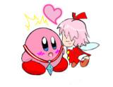 【ペンタブ】星のカービィ64 ラストシーン  カービィ&リボン