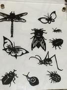 【切り絵】昆虫