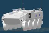 96式装輪装甲車の作業工程3