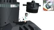 【MMD艦これ】10cm高角砲+高射装置妖精さんフィギュア