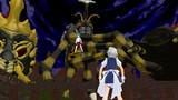 咲夜VS三大虫怪獣