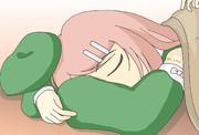 うたた寝モモさん
