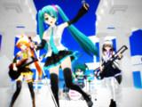 【MMD楽器選手権】青空と白いステージ
