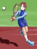 テニスには自信があるんだから!