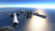 SpaceEngineersオリジナル船作ってみた