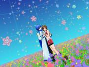 お花畑(11/22の日なのでカイメイで静止画2)