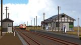 晩秋のローカル駅