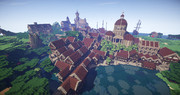 【Minecraft】西洋風な城を作ったついでに