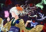 無意識の少女と薔薇
