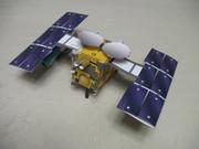 【試作】小惑星探査機はやぶさ2 ペーパークラフト 【2号】