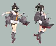 秋月さん(3D)