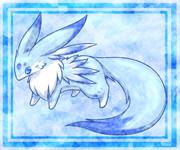 青い小動物1