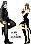 あの夫婦映画パロでレイとマミヤ
