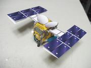【試作】小惑星探査機はやぶさ2 ペーパークラフト 【3号】