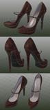久々に靴のモデリング