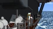【MMDで進撃の艦これ】パラベーンから艦首を見る