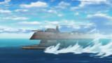超巨大ゴキブ....超巨大光学迷彩戦艦シャドウブラッタ接近!!!