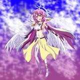 位階序列第六位 天翼種(フリューゲル)の少女 「ジブリール」