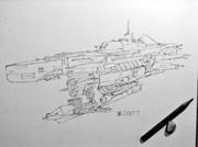 霧の潜水艦風スルクフ