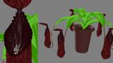 【MMD】恐怖! 人食い植物!!【配布】