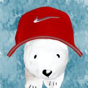 赤帽子な白くま!