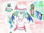 レミリア嬢 と うー☆ストレル