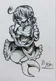【アナログ】わかさぎ姫で例のタートルネック