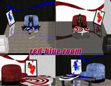 red-blue部屋 配布開始