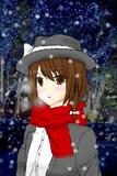 【手描き】冬服の蓮子