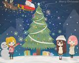クリスマスツリー完成♪