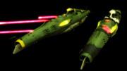 【モデル配布】ガイデロール級二等航宙戦艦