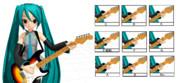 【MMD】基本的なギターコード+α【モーション配布】