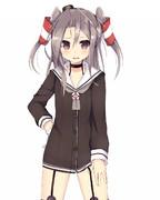 駆逐艦の服を着た軽空母18