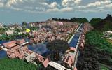 【Minecraft】 西洋風の街を築いてみた