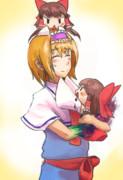 女神ALCとサケノミガ