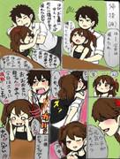 落書き艦これ漫画12『夫婦の時間(°ω°)』
