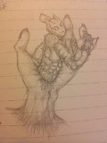 授業中に描いた バイツァ・ダスト