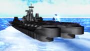 戦術機搭載戦艦「ケストレル」