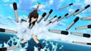 艦これアニメPV 雷撃シーン『てっ!』