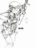 ミリタリ女子()
