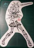 切り絵「カデンツァ フェルマータ アコルト:フォルテシモ」フレイア=シュヴェルトライテ